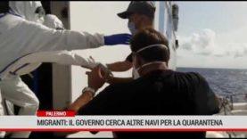 Sbarchi migranti. Un bando per nuove navi quarantena