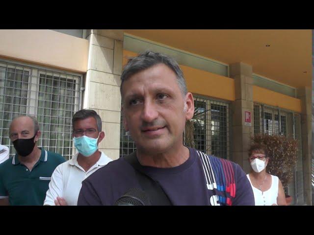 Sit-in dei dipendenti dell'ex Motel Agip a Palermo