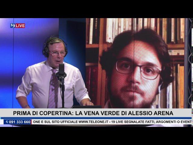 """19 LIVE  – PRIMA DI COPERTINA """"LA VENA VERDE"""" di ALESSIO ARENA"""