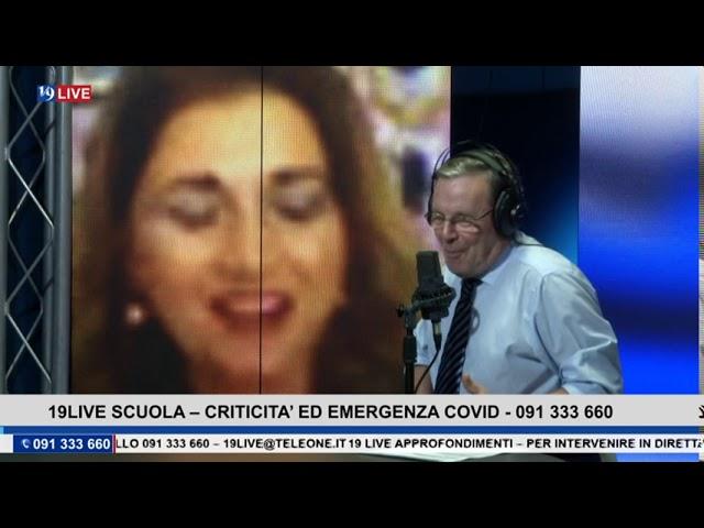 19 LIVE SCUOLA – CRITICITA' ED EMERGENZA COVID CON GAETANO PAGANO
