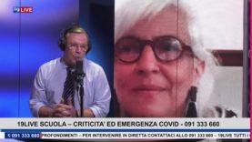 19 LIVE SCUOLA – CRITICITA' ED EMERGENZA COVID CON L'ASSESSORE GIOVANNA MARANO
