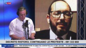 19LIVE   DECRETO RISTORO   CONTINUANO LE PROTESTE