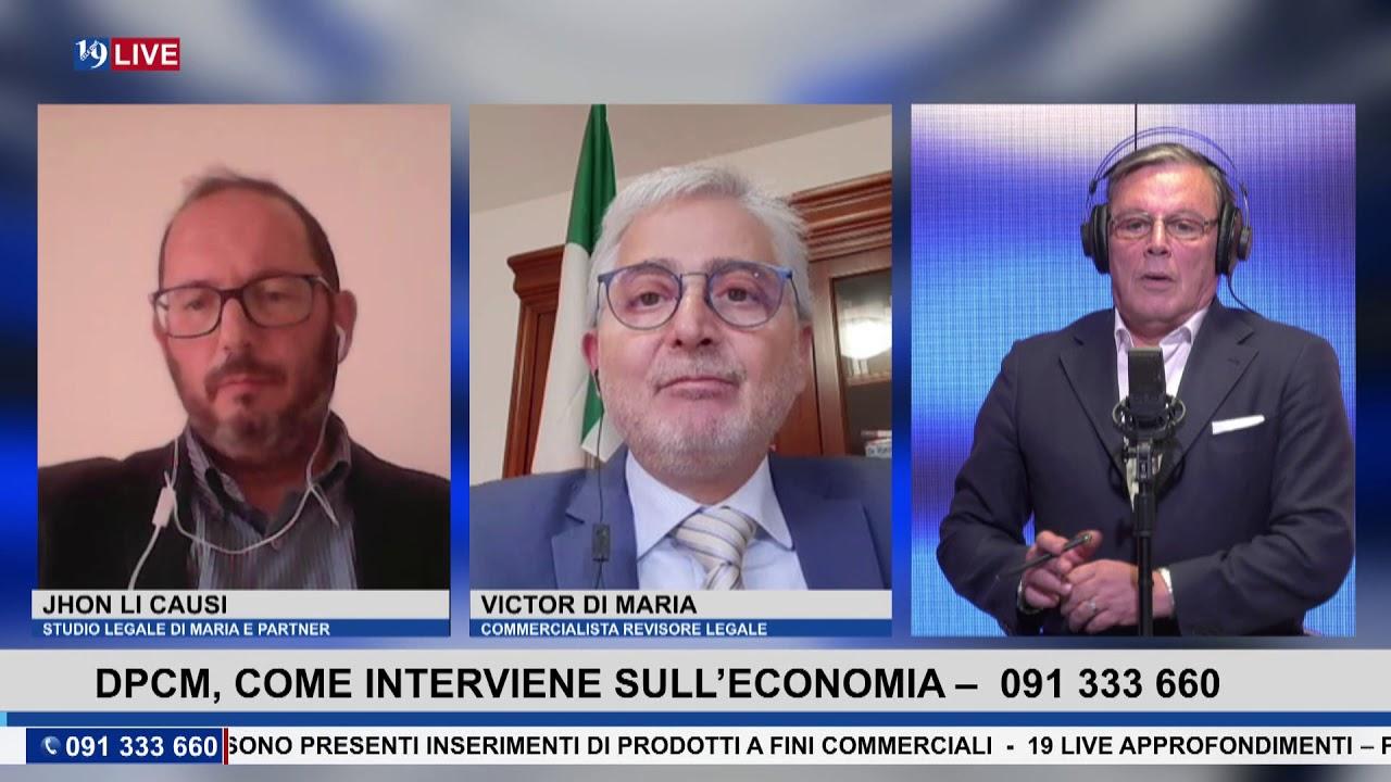 19LIVE – DPCM, COME INTERVIENE SULL'ECONOMIA