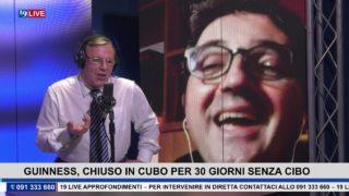 19LIVE – GUINNESS, CHIUSO IN CUBO PER 30 GIORNI SENZA CIBO
