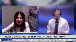 19LIVE   NUOVO DPCM PROTESTE IN TUTTA ITALIA CON IL DEPUTATO M5S DELL'ARS ROBERTA SCHILLACI