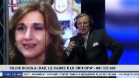 19LIVE –  SCUOLA DAD, LE CAUSE E LE CRITICITA' Con Daniela Crimi , Rosolino Cicero e Francesco Tona