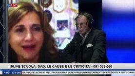 19LIVE SCUOLA DAD, LE CAUSE E LE CRITICITA' con Daniela Crimi, Rosolino Cicero ed Emanuela Oliva