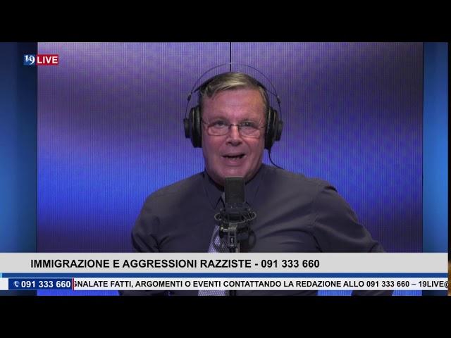 19LIVE TRASMISSIONE DI VENERDI 2 OTTOBRE 2020