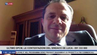 19LIVE – ULTIMO DPCM, LE INIZIATIVE DEL SINDACO DI MESSINA CATENO DE LUCA