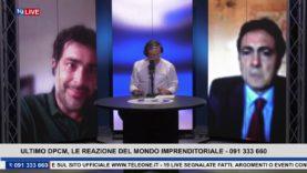 19LIVE – ULTIMO DPCM, LE REAZIONI DEL MONDO IMPRENDITORIALE CON MARIO ATTINASI E FRANCESCO CARNEVALE