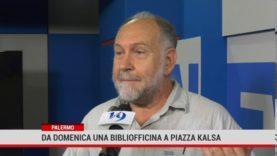 A Palermo la Bibliofficina. L'iniziativa nasce dal centro per lo sviluppo creativo Danilo Dolci.