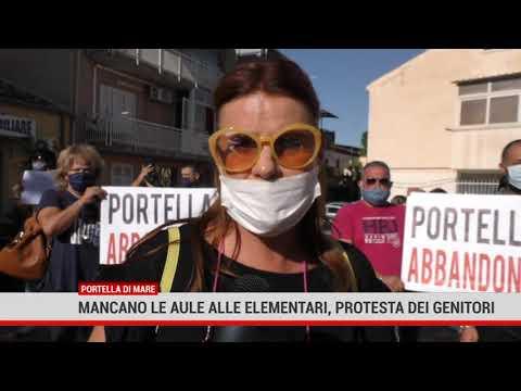 A Villabate mancano le aule, protesta dei genitori