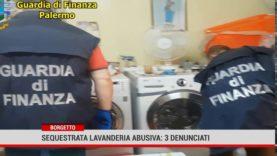 Borgetto. Sequestrata lavanderia abusiva: 3 denunciati