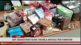 Carini. Gdf: sequestrati oltre 100mila articoli per fumatori
