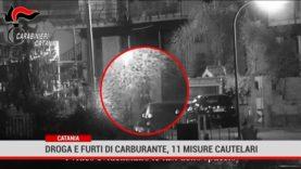 Catania. Droga e furti di carburante, 11 misure cautelari