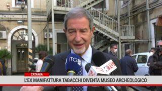 Catania. L' ex Manifattura tabacchi diventa museo archeologico regionale