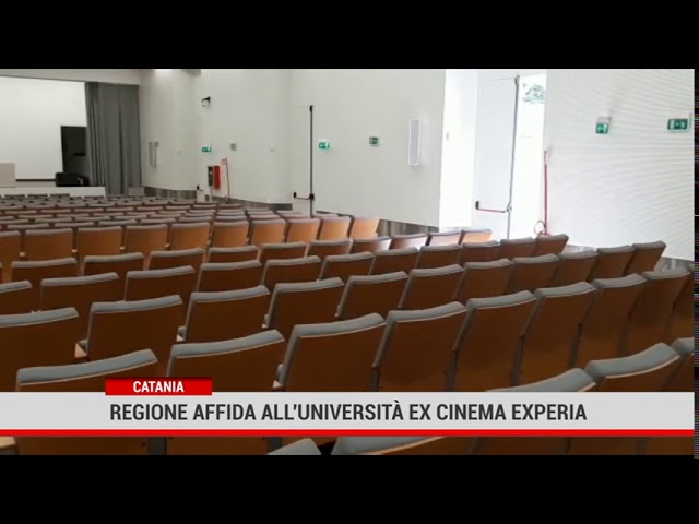 Catania. La Regione affida all'Università l'ex cinema Experia