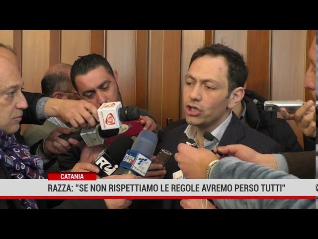 """Catania. Razza"""" Se non rispettiamo le regole avremo perso tutti"""""""