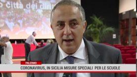 Coronavirus, in Sicilia misure speciali per le scuole