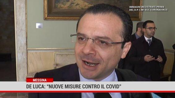 Coronavirus. Messina: nuova ordinanza del sindaco De Luca