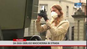 Da oggi in Sicilia obbligo mascherine all'aperto