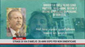 Domani 28 anni dalla strage di via D'Amelio