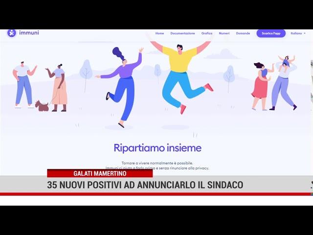 Galati Mamertino. 35 nuovi positivi, ad annunciarlo il sindaco