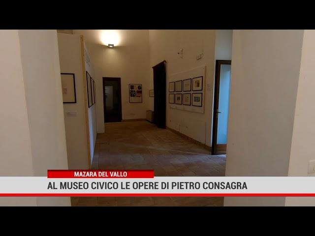 Mazara del Vallo. Al Museo civico le opere di Pietro Consagra