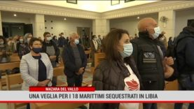 Mazara del Vallo. Veglia di preghiera per i 18 marittimi prigionieri in Libia