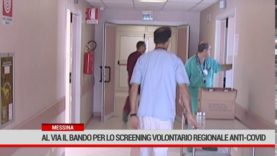 Messina. Al via il bando per lo screening volontario regionale anticovid