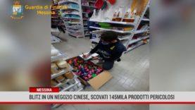 Messina. Blitz in un negozio cinese, scovati 145mila prodotti pericolosi