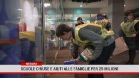 Messina. Scuole chiuse e aiuti alle famiglie per 25 milioni