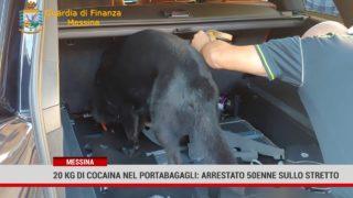 Messina. Sequestrati 20 kg di cocaina