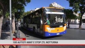 Palermo. 100 autisti Amat e stop ztl notturna