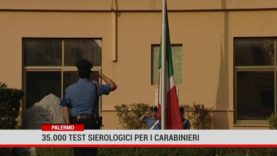 Palermo. 35mila test sierologici per i carabinieri