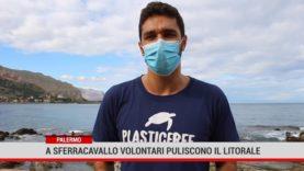 Palermo: A Sferracavallo volontari puliscono il litorale