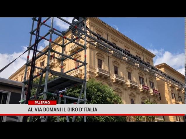 Palermo. Al via domani il Giro d'Italia