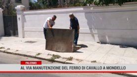 Palermo. Al via manutenzione del Ferro di cavallo a Mondello