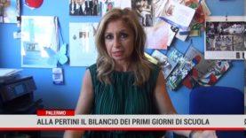 Palermo. Alla scuola Pertini il bilancio dei primi giorni di scuola