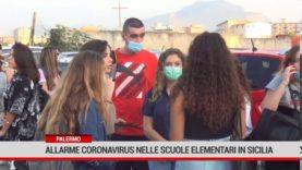 Palermo. Allarme Coronavirus nellescuole elementari in Sicilia.