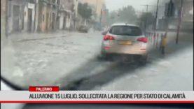 Palermo. Alluvione 15 luglio, sollecitata la Regione per stato di calamità