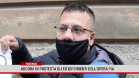 Palermo. Ancora in protesta gli ex dipendenti dell'opera Pia
