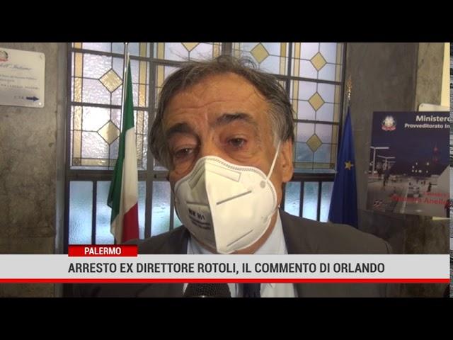 Palermo. Arresto dell'ex direttore dei Rotoli, il commento di Orlando