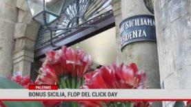 Palermo. Bonus Sicilia, flop del click day