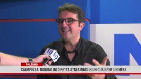Palermo. Carapezza, digiuno in diretta streaming  in un cubo per un mese