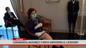 "Palermo. Coronavirus, Musumeci: ""A breve arriveremo al lockdown"""