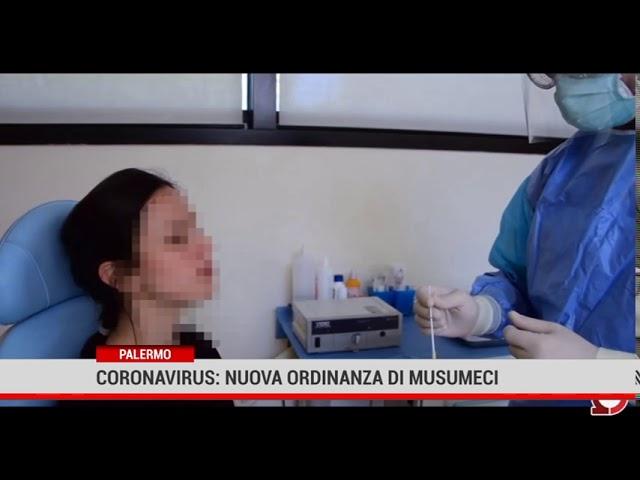 Palermo. Coronavirus: nuova ordinanza di Musumeci