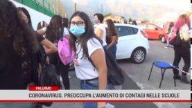Palermo.Coronavirus: preoccupa l'aumento di contagi nelle scuole