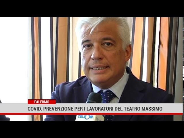 Palermo. Covid: convenzione  con  Villa Sofia per i lavoratori del teatro Massimo