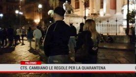 Palermo. Cts, cambiano le regole per la quarantena